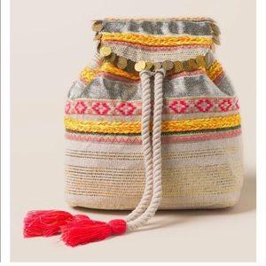 Boho beach backpack